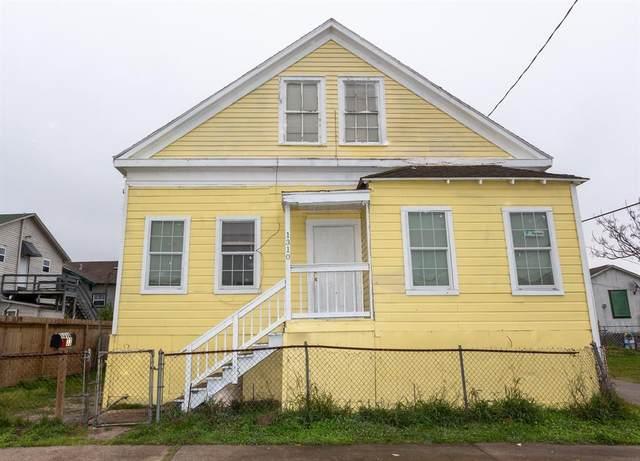 1310 33rd Street, Galveston, TX 77550 (MLS #27908885) :: The Bly Team