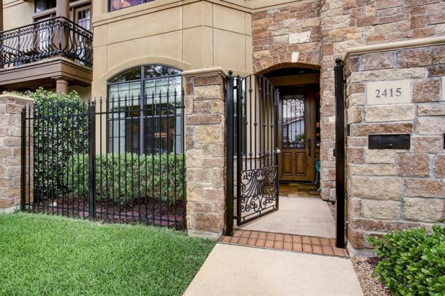 2415 Commonwealth Street, Houston, TX 77006 (MLS #34511485) :: Keller Williams Realty