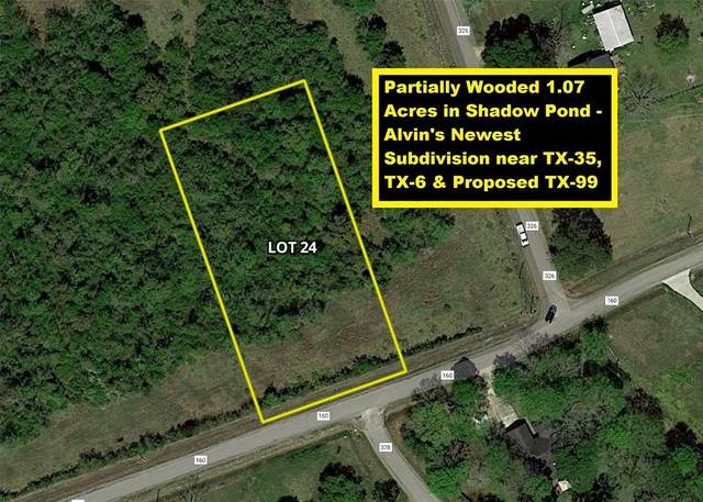 Lot 24 County Road 160, Alvin, TX 77511 (MLS #34974354) :: The Freund Group
