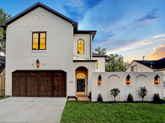 1647 Vassar Street, Houston, TX 77006 (MLS #36219095) :: Texas Home Shop Realty