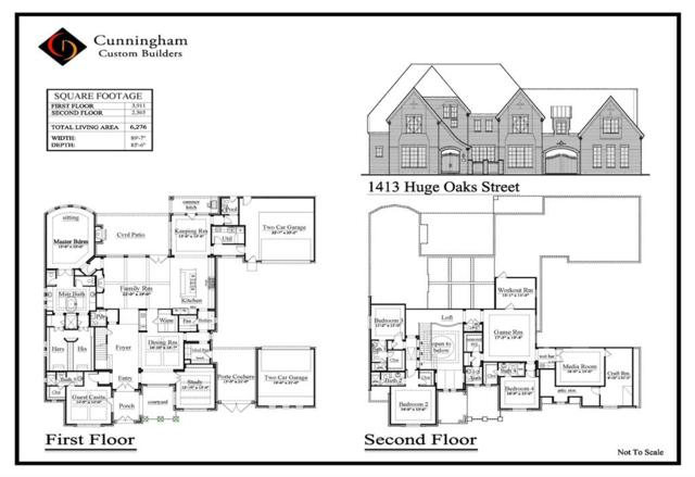 1413 Huge Oaks Street, Houston, TX 77055 (MLS #41866422) :: Giorgi Real Estate Group