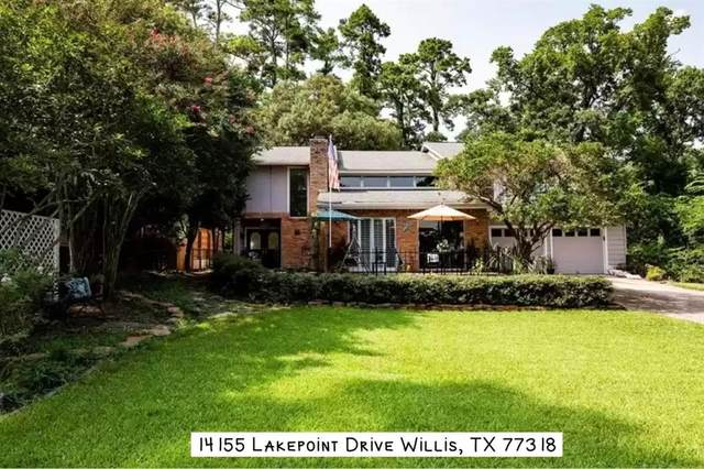 14155 Lakepoint Drive, Willis, TX 77318 (MLS #44151898) :: The Wendy Sherman Team