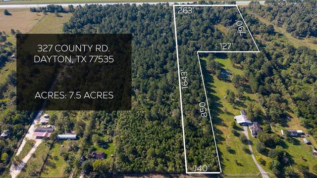 327 County Road 688, Dayton, TX 77535 (MLS #46565978) :: The Freund Group