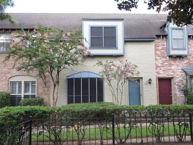 14711 Barryknoll Lane #41, Houston, TX 77079 (MLS #53640305) :: The Heyl Group at Keller Williams