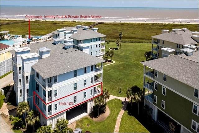 4221 Pointe West Drive #103, Galveston, TX 77554 (MLS #53705360) :: Green Residential