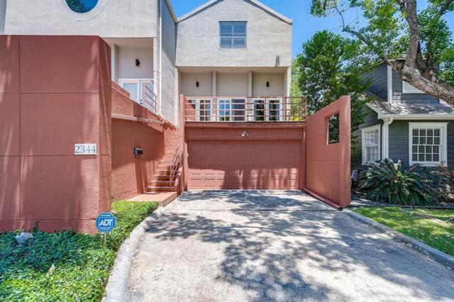 2344 Bartlett Street, Houston, TX 77098 (MLS #5573202) :: Glenn Allen Properties