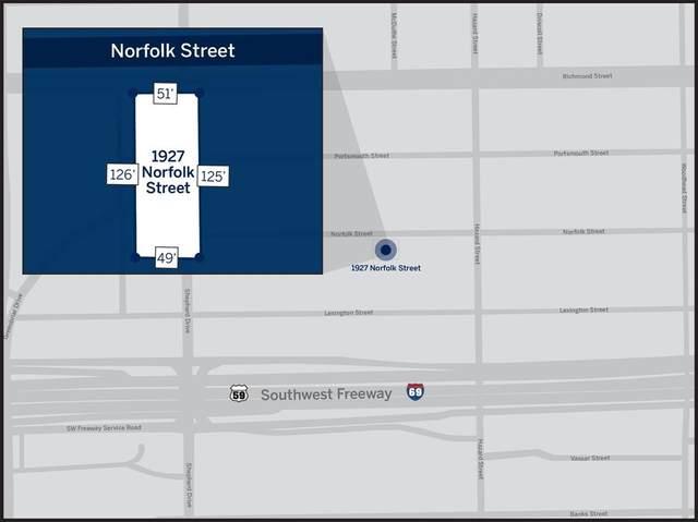 1927 Norfolk Street, Houston, TX 77098 (MLS #58313008) :: The Property Guys