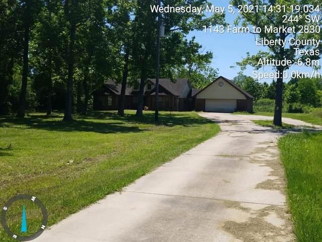 1127 Fm 2830 Road S, Liberty, TX 77575 (MLS #66443643) :: Michele Harmon Team