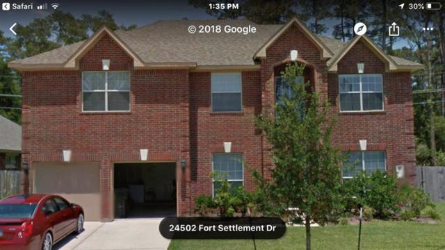 24502 Fort Settlement Drive, Spring, TX 77373 (MLS #67783324) :: The Heyl Group at Keller Williams