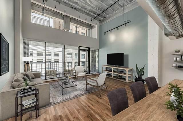 917 Main Street #1108, Houston, TX 77002 (MLS #72950424) :: Homemax Properties