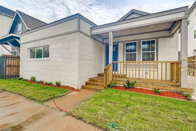 1209 Crockett Street, Houston, TX 77007 (MLS #73649857) :: The Property Guys