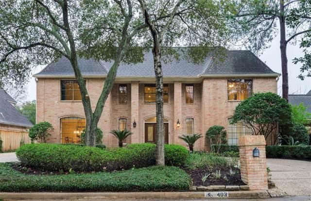 403 Sandy Bluff, Houston, TX 77079 (MLS #7872763) :: Texas Home Shop Realty