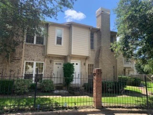 7575 Cambridge Street #201, Houston, TX 77054 (MLS #79924567) :: Connect Realty