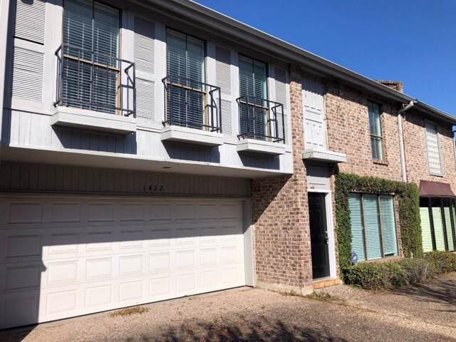 1422 Potomac Drive, Houston, TX 77057 (MLS #83638872) :: Ellison Real Estate Team