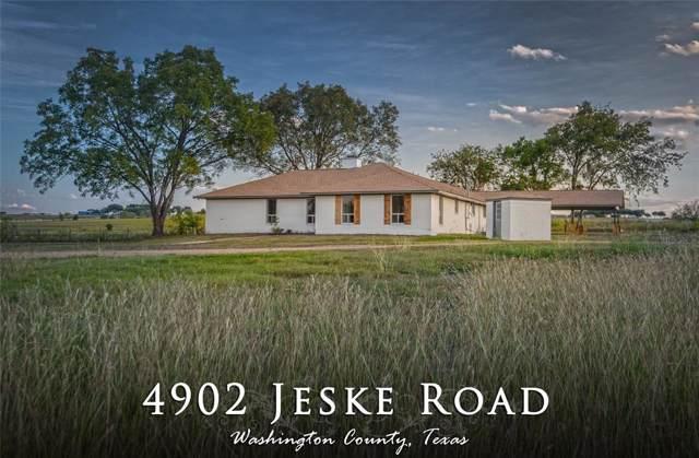4902 Jeske Road, Brenham, TX 77833 (MLS #8767185) :: TEXdot Realtors, Inc.