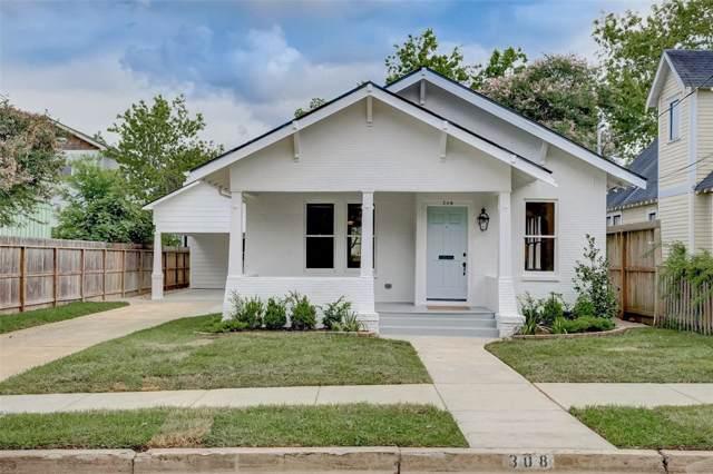 308 Woodland Street, Houston, TX 77009 (MLS #88916494) :: Texas Home Shop Realty