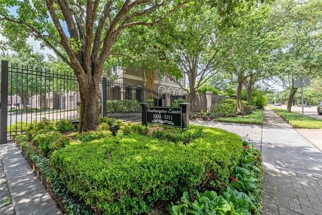 5304 Southampton Estate, Houston, TX 77005 (MLS #92535200) :: My BCS Home Real Estate Group