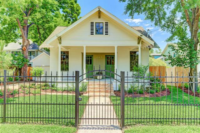 807 Woodland Street, Houston, TX 77009 (MLS #12314544) :: The SOLD by George Team