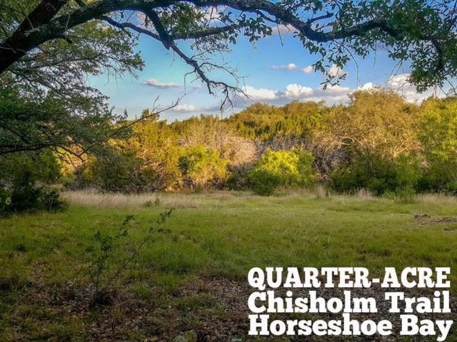 K11092 Chisom Trail, Horseshoe Bay, TX 78657 (MLS #35799959) :: Texas Home Shop Realty