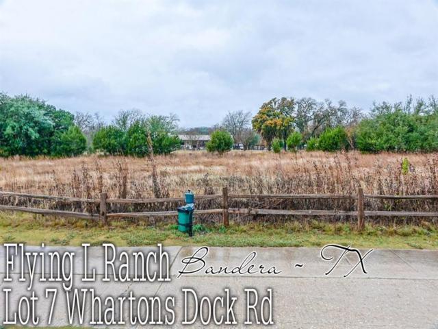 Lot 7 Whartons Dock Road, Bandera, TX 78003 (MLS #41506152) :: The Parodi Team at Realty Associates