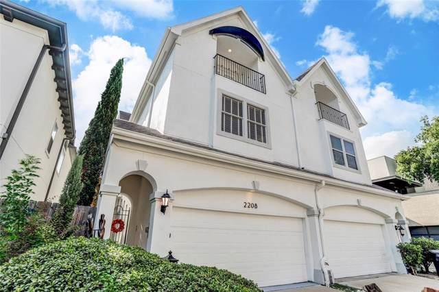 2208 Mcduffie Street, Houston, TX 77019 (MLS #53405747) :: Ellison Real Estate Team