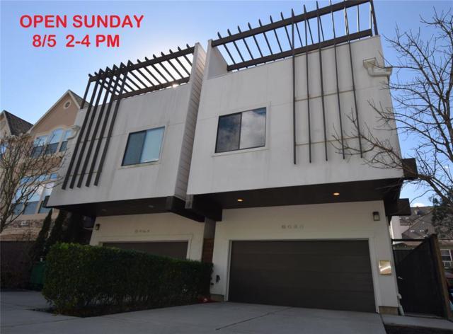 605 B Reinicke Street B, Houston, TX 77007 (MLS #58215053) :: Giorgi Real Estate Group