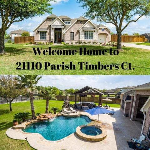 21110 Parish Timbers Court, Cypress, TX 77433 (MLS #61514398) :: The SOLD by George Team