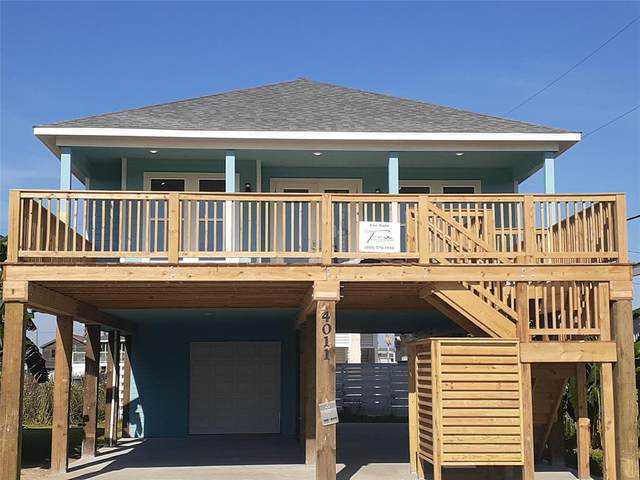 4011 Oleander Drive, Galveston, TX 77554 (MLS #75588306) :: All Cities USA Realty