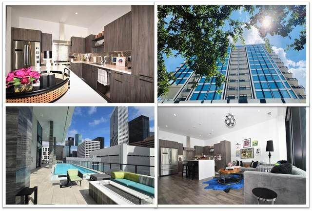 1211 Caroline Street #1106, Houston, TX 77002 (MLS #85669332) :: The SOLD by George Team