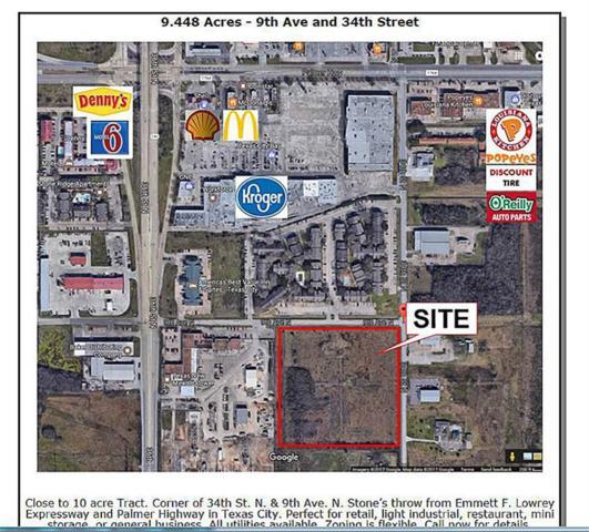 0 34th St N & 9th Avenue, Texas City, TX 77563 (MLS #88580834) :: Giorgi Real Estate Group