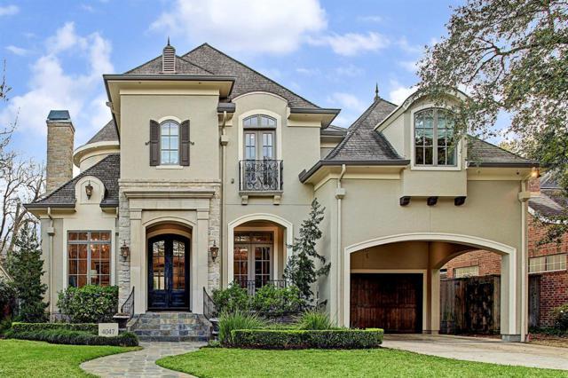 4047 Dumbarton Street, Houston, TX 77025 (MLS #94772255) :: Fairwater Westmont Real Estate