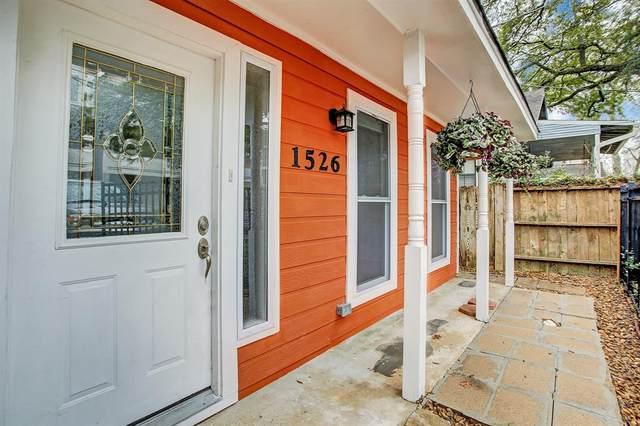 1526 Dorothy Street, Houston, TX 77008 (MLS #48703972) :: Homemax Properties