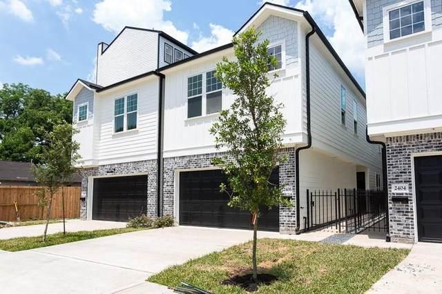 2408 Saint Charles Street, Houston, TX 77004 (MLS #58562213) :: The Home Branch