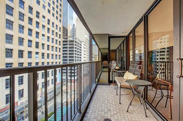 917 Main Street #605, Houston, TX 77002 (MLS #35794690) :: Caskey Realty