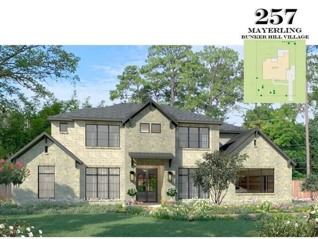 257 Mayerling Drive E, Bunker Hill Village, TX 77024 (#24281974) :: ORO Realty