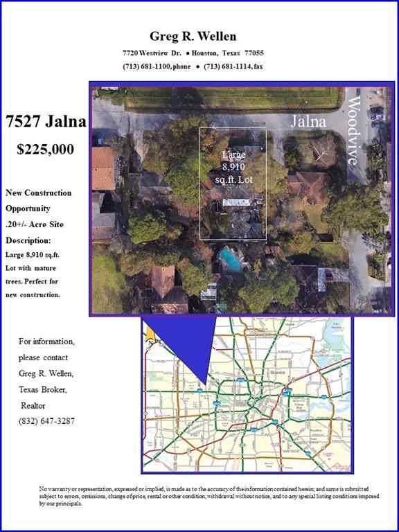 7527 Jalna Street, Houston, TX 77055 (MLS #12133019) :: The Heyl Group at Keller Williams