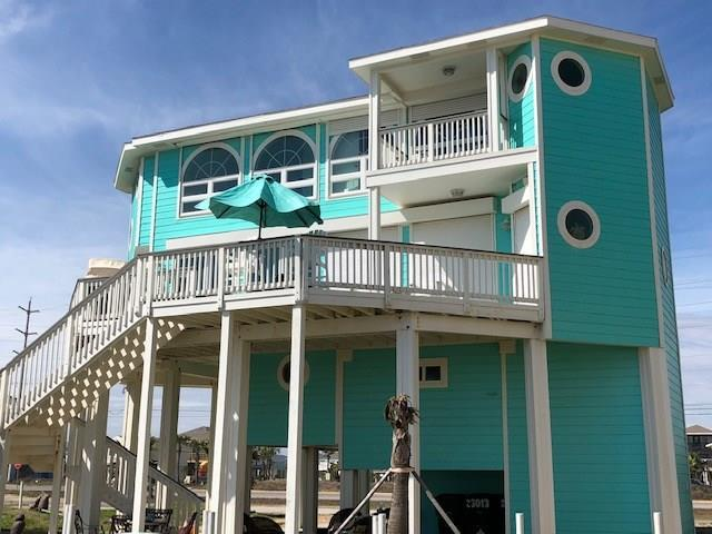 23013 Gulf Drive, Galveston, TX 77554 (MLS #12652802) :: The SOLD by George Team