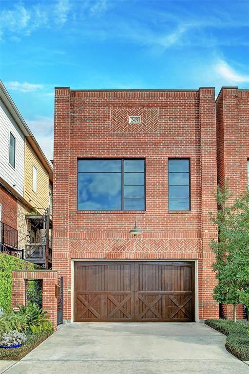 2409 Woodhead Street, Houston, TX 77019 (MLS #13544466) :: The Property Guys