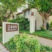 2409 Bering Drive #1, Houston, TX 77057 (MLS #20861124) :: Phyllis Foster Real Estate