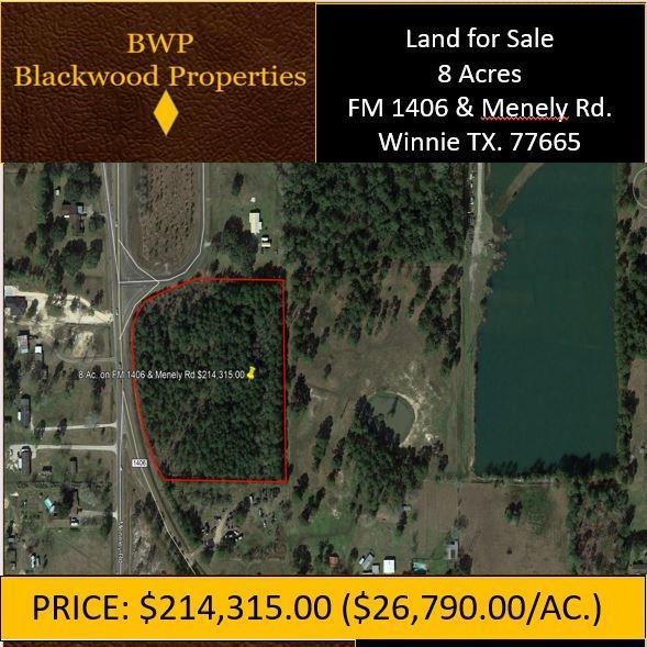 0 Fm 1406 S, Winnie, TX 77665 (MLS #22660551) :: Green Residential