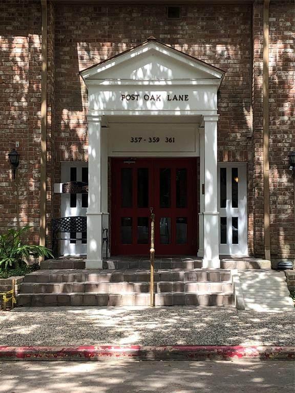 357 N Post Oak Lane #316, Houston, TX 77024 (MLS #24156738) :: Lerner Realty Solutions