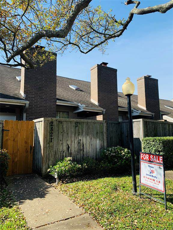 2821 Panagard Drive #38, Houston, TX 77082 (MLS #24257693) :: The SOLD by George Team