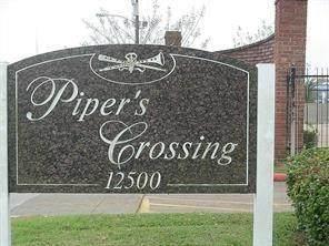 12500 Sandpiper Drive #72, Houston, TX 77035 (MLS #24591571) :: Parodi Group Real Estate