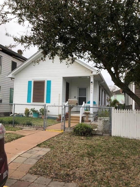 3404 Avenue R, Galveston, TX 77550 (MLS #24652359) :: The Bly Team