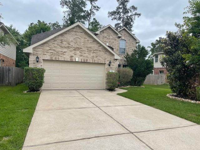154 Spindle Tree Circle, The Woodlands, TX 77382 (MLS #24680532) :: Guevara Backman