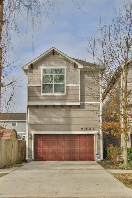 2209 Bevis Street A, Houston, TX 77008 (MLS #24936696) :: Texas Home Shop Realty