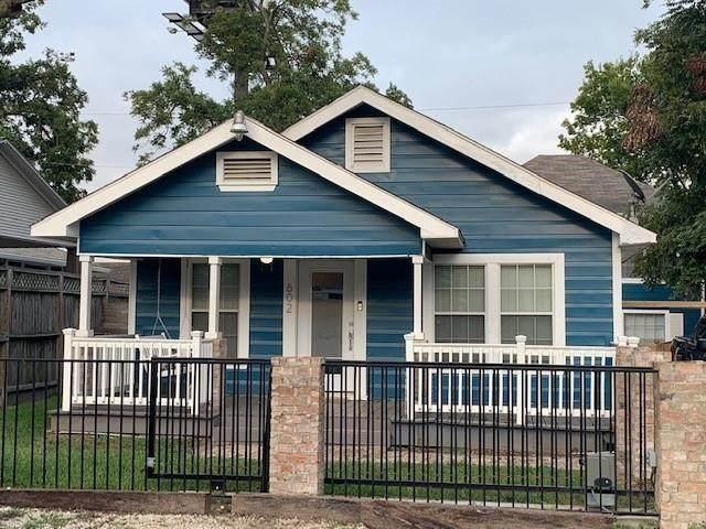 602 Vincent Street, Houston, TX 77009 (MLS #25072904) :: The Property Guys