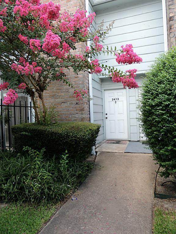 2800 Jeanetta Street #2413, Houston, TX 77063 (MLS #25123288) :: Texas Home Shop Realty