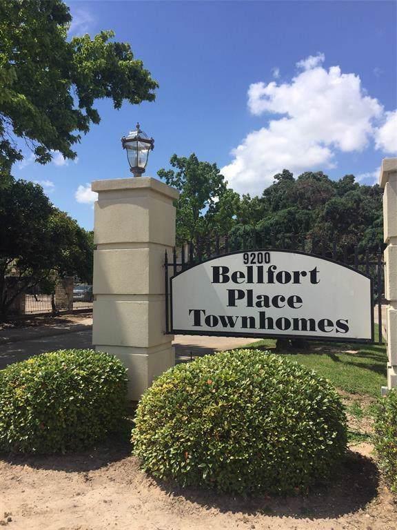 9200 W Bellfort Street #94, Houston, TX 77031 (MLS #26543219) :: The Home Branch