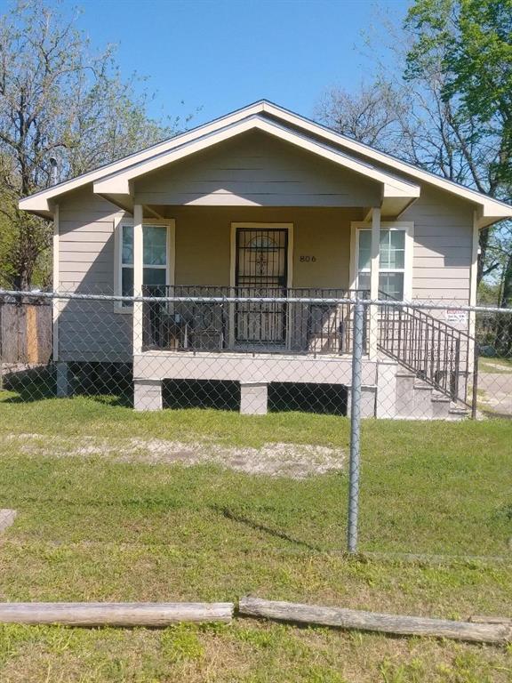 806 Granville Drive, Houston, TX 77091 (MLS #27263908) :: KJ Realty Group